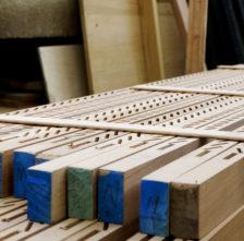 Spanish Cedar Shutter Stiles