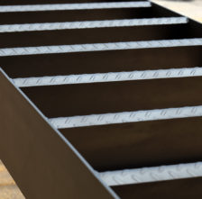 Diamond Plate Utility Stair