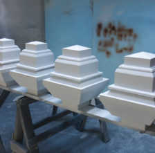 Primed Spanish Cedar Ornamental Caps