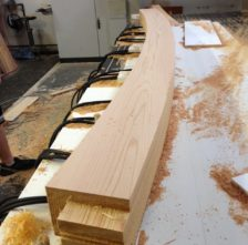 Western Red Cedar Arched Beam