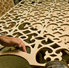 Teak Fretwork Door Grilles