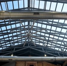 Roof Trusses For Restaurant