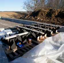 Steel Hubs for Timber Frame Barn