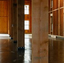 Timber Framed Barn Post Anchors