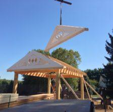 Azek Pavilion Gable End